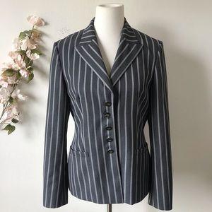 Escada Striped Blazer Jacket